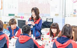 ヨシケイ福山 配送スタッフの仕事 出勤・朝礼